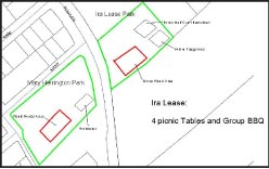Small map of the features of IRA Lease Park