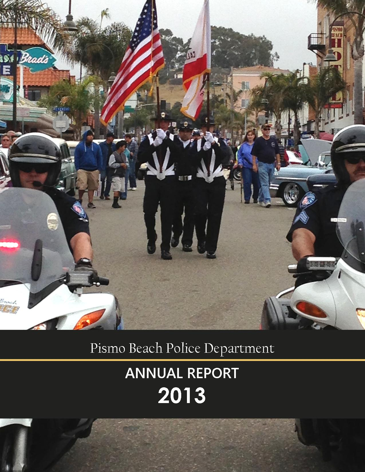 Annual Report Cover 2013